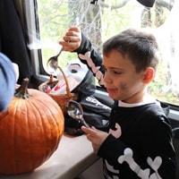 Halloween expressz a Gyermekvasúton